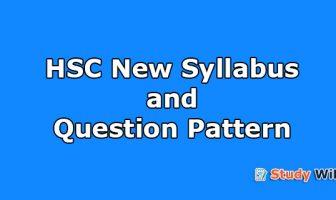 hsc new syllabus